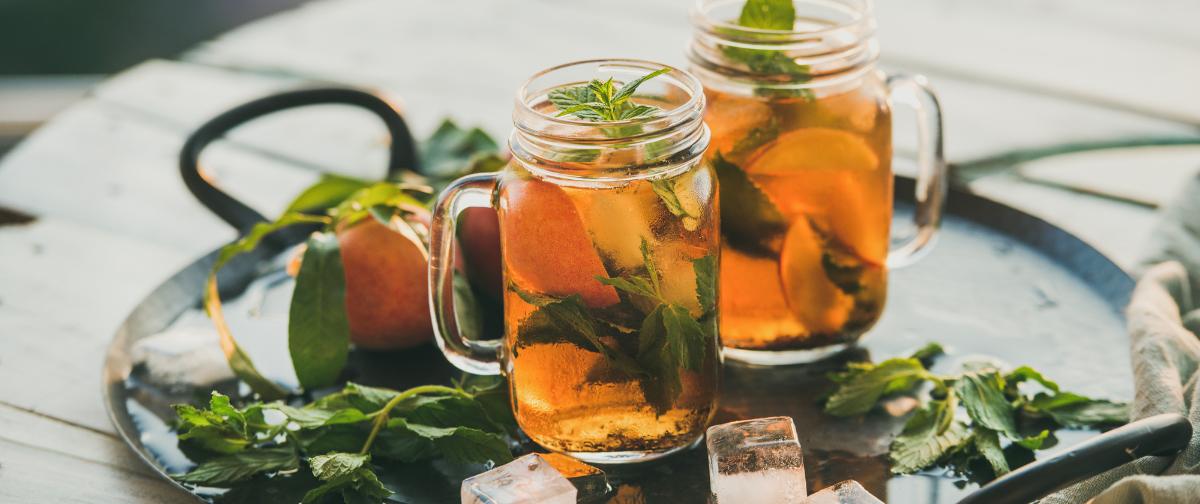 Hoe ice tea maken